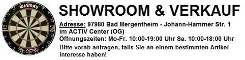 Dart Laden Showroom Verkauf Bad Mergentheim